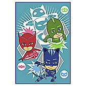 Pj Masks Fleece Blanket Be A Hero