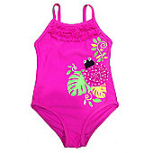 Jakabel Baby/Girls Pink Bug Swimsuit - Pink