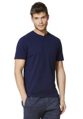 F&F Grandad T-Shirt with As New Technology Navy L