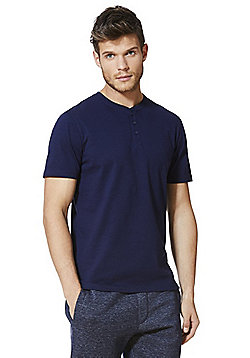 F&F Grandad T-Shirt with As New Technology - Navy