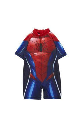 Marvel Spider-Man Surf Suit Red/Blue 9-12 months