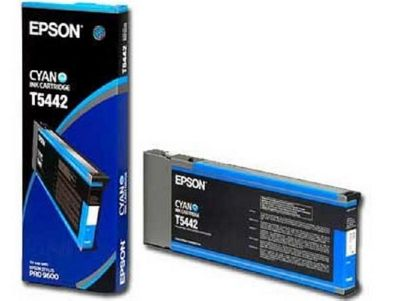 Epson UltraChrome T5442 Cyan Ink Cartridge (220ml)