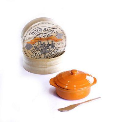 Wildly Delicious Petite Maison Brie Baker in Tangerine Orange BBT-PM6