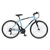 """Viking Bourbon Street 19"""" Cross Bar Frame 700c Urban Trekking Hybrid Bike"""