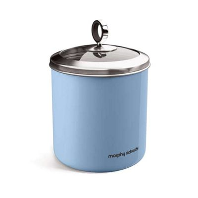 Morphy Richards Accents Large Storage Canister - Cornflower Blue