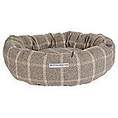 Slate Tweed Donut Bed
