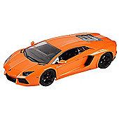 1:14 Remote Control Car - Orange Lamborghini