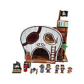 Teamson Kids Pirate Island Table Top Play Centre