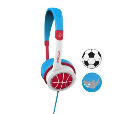 ifrogz IFLTRC-FB0 Blue Red White Supraaural Head-band headphone
