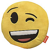 Emoji Wink Cushion