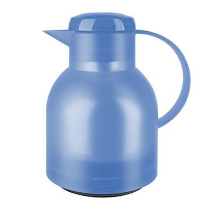 EMSA Samba Quick Press Vacuum Jug, 1.0L, Light Blue