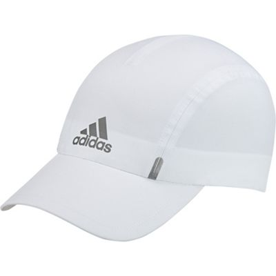 adidas Climalite Mens Womens Lightweight Running Cap Hat - White