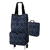 Ulster Weavers Collapsable Space Saving Shopping Trolley Bag in Giraffes Design
