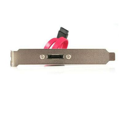 StarTech External Slot Plate eSATA Cable Pink