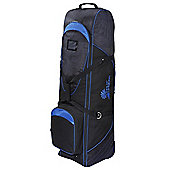 Palm Springs Golf Bag Tour Travel Cover V2 With Wheels Black/Blue