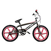 "Harlem XR22 Kids BMX 20"" Pink Skyway Mag Wheels Black"