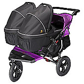 Out'n'About Double Carrycot, Raven Black
