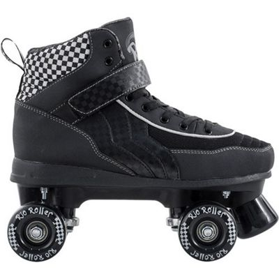 Rio Roller Mayhem Black/White Quad Roller Skates UK 3