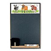 Booth Design A4 Chalkboard Cheddar Cows