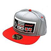 Nintendo Original Embroided NES Controller Snapback Baseball Cap One Size