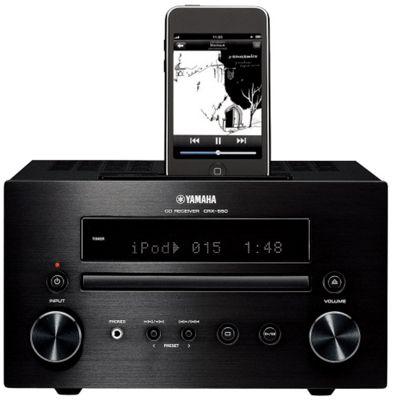 YAMAHA CRX550 CD/DAB/DAB+/FM/iPOD MICRO HIFI (BLACK)