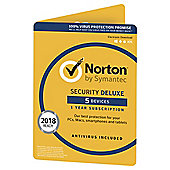 Norton Security 1 USER 5 DEVICE 3.0 (Deluxe)