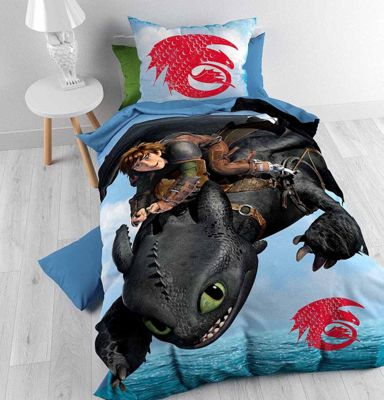 Buy disney how to train your dragon duvet cover set for kids disney how to train your dragon duvet cover set for kids multicoloured single 3ft ccuart