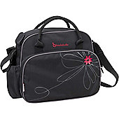 Badabulle Vintage Changing Bag (Black/Pink)