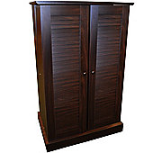 Victoria - Cd / Dvd / Blu-ray Multimedia Storage Cabinet - Walnut