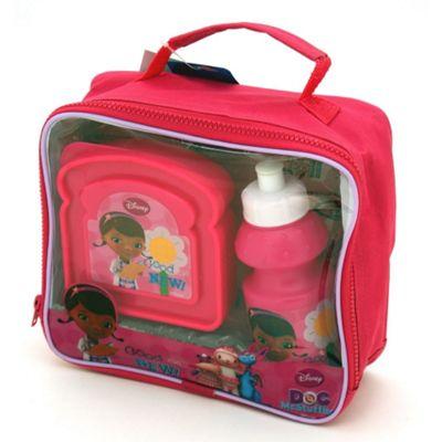 Disney Doc Mcstuffins Lunch Bag Kit