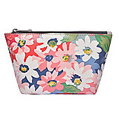 Bright Floral Make Up Bag