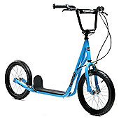 """Limited Edition 1080 Adult Teen Blue 16"""" Wheel Push BMX Style Scooter"""