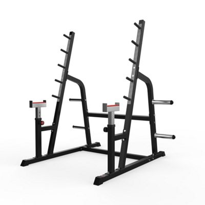Adjustable Weight Lifting Squat Rack Gym Bench Press Barbell Stand