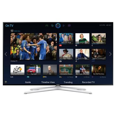 Samsung UE48H6240 48 Inch 3D Ready, Smart WiFi Built In Full HD 1080p LED TV with Freeview HD