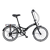 Viking Metropolis Unisex 6 Speed Folding Bike Black