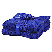 Hygro Cotton 2 Pack Hand Towels - Cobalt Blue