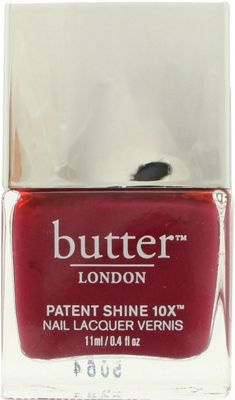 Buy Butter London Patent Shine 10X Nail Lacquer 11ml - Broody from ...