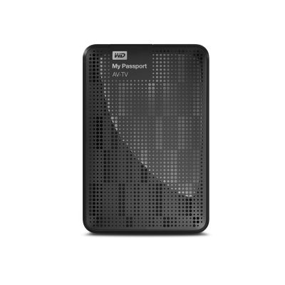 WD My Passport AV-TV 1TB Black Hard Drive