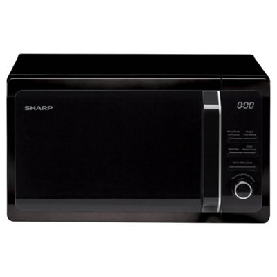 Sharp R664KM 20L Microwave Oven with Grill - Black