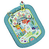 Bright Starts Safari Adventures Prop and Play Baby Mat