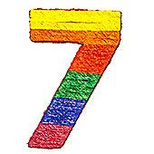 Number 7 Piñata