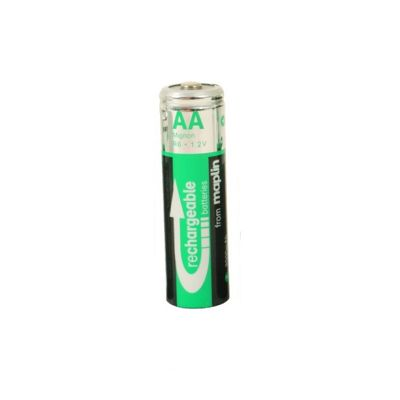 Maplin 2400Mah NiMh Rechargeable AA Batteries 4 Pack
