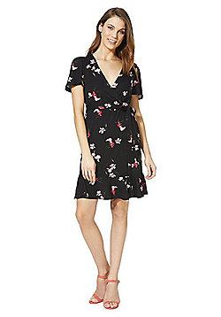 F&F Floral Print Jersey Dress - Multi