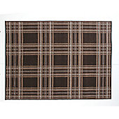 Element Check Brown Rug 160x220cm