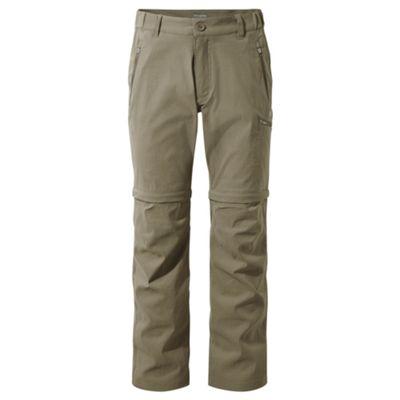 Craghoppers Mens Kiwi Pro Convert Trousers Pebble 32 Long Leg