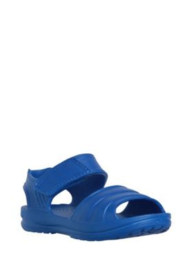 F&F Moulded Riptape Sandals Blue Child 5