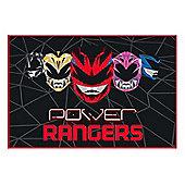 Power Rangers 'Geo Shard' Panel Fleece Blanket Throw