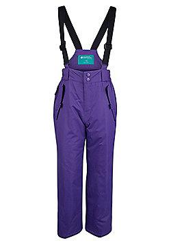Mountain Warehouse Honey Kids Snow Pants - Purple