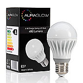 AURAGLOW 6w LED E27 Screw Warm White