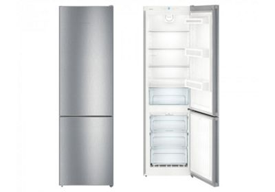 Liebherr CNEL4813 60cm NoFrost Fridge Freezer in Stainless Steel